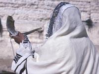 הכותל המערבי ירושלים תפילות יום כיפור דתיים שופר / צלם: פוטוס טו גו